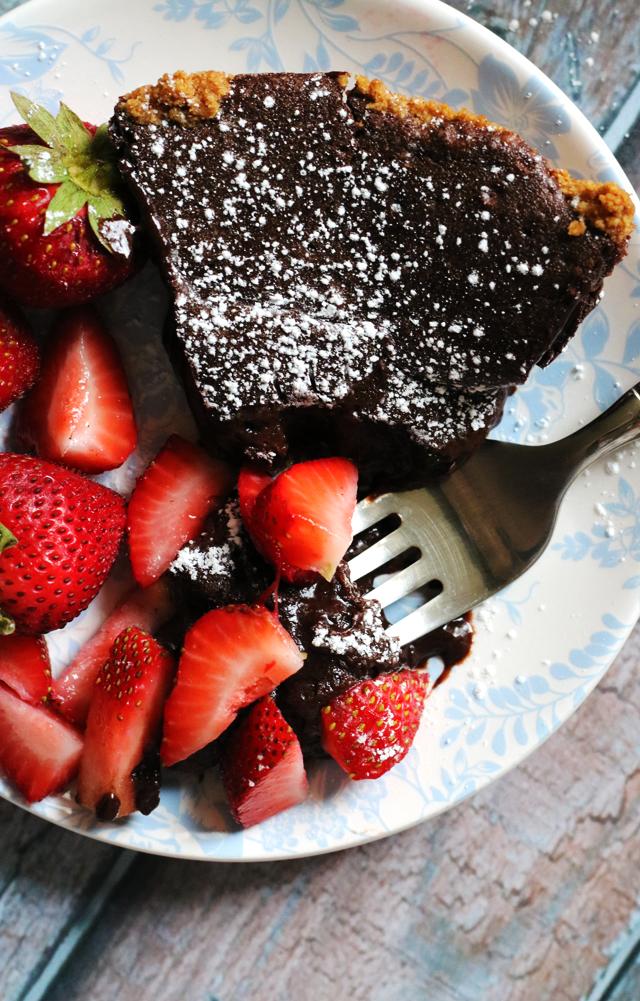 The Fudgiest Brownie Pie