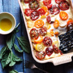 Roasted Eggplant Lasagna with Garlic Bechamel