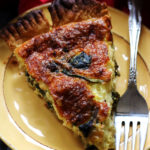 Caramelized Shallot and Swiss Chard Quiche