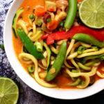 Thai Tofu Zoodle Soup