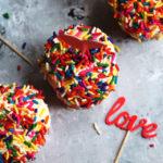 Funfetti Angel Food Cupcakes