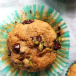 Whole Wheat Zucchini Chocolate Chip Muffins