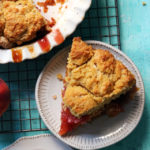 Peach Ginger Biscuit Pie