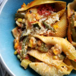 Stuffed Shells with Summer Vegetables