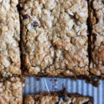 Peanut Butter, Dried Cherry, and Chocolate Chip Breakfast Granola Bars