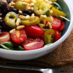 Summer Grain Bowls with Corn, Black Beans, Chiles, and Arugula