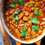 Indian Roasted Chickpea and Sweet Potato Curry