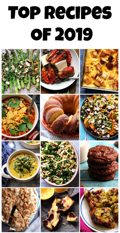 Top 12 Recipes of 2019