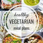 Healthy Vegetarian Meal Plan – 1.11.20