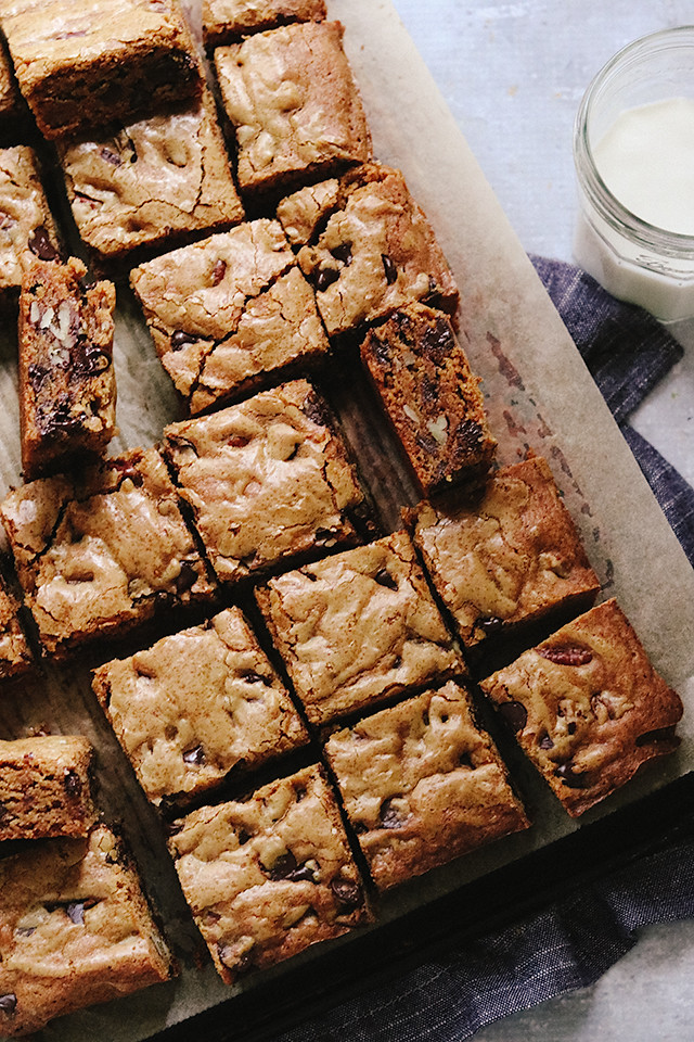 Caramel Canvas Blondies