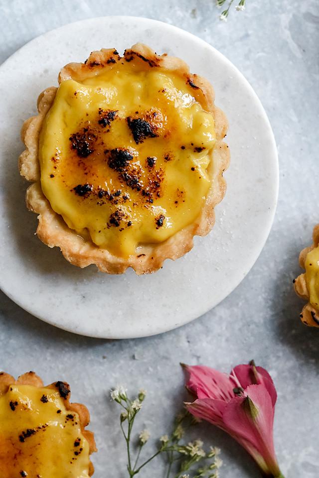 Chai Brulee Tartlets