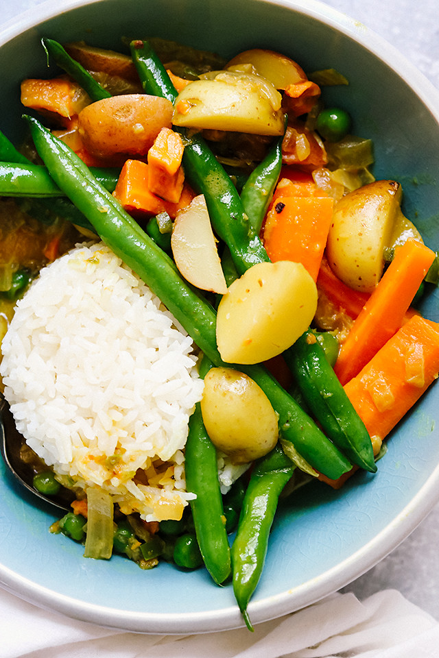 Keralan Spring Vegetable Coconut Curry