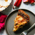 Rhubarb and Brown Sugar Pie