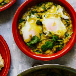 Dhal-Baked Eggs