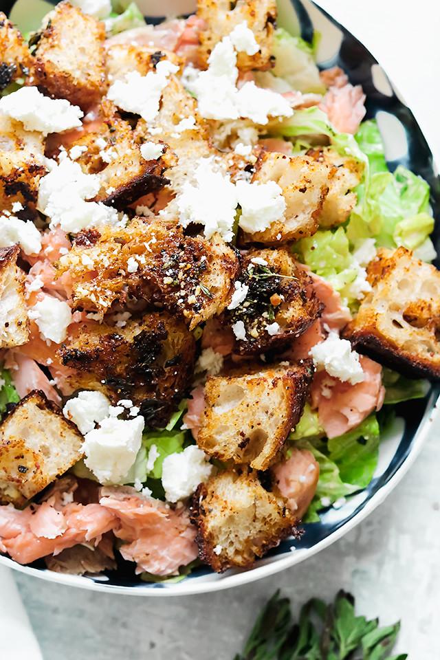 Tex-Mex Salmon Caesar Salad