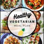 Healthy Vegetarian Meal Plan – 9.19.20