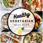 Healthy Vegetarian Meal Plan – 10.3.20