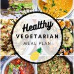 Healthy Vegetarian Meal Plan – 10.10.20