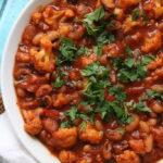 Vegan Black-Eyed Pea and Cauliflower Chili