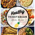 Healthy Vegetarian Meal Plan 12.5.20