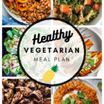 Healthy Vegetarian Meal Plan – 1.9.21