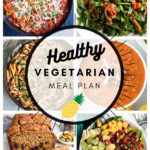 Healthy Vegetarian Meal Plan – 1.16.21