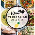 Healthy Vegetarian Meal Plan – 1.23.21
