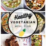 Healthy Vegetarian Meal Plan – 1.30.21