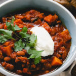 Hearty Vegan Winter Vegetable Chili