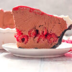 Chocolate Covered Raspberry Pie