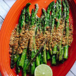 Blistered Asparagus with Gunpowder Masala