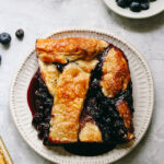 Blueberry Slab Pie For A Crowd