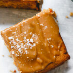 Salty Caramel Peanut Butter Cake